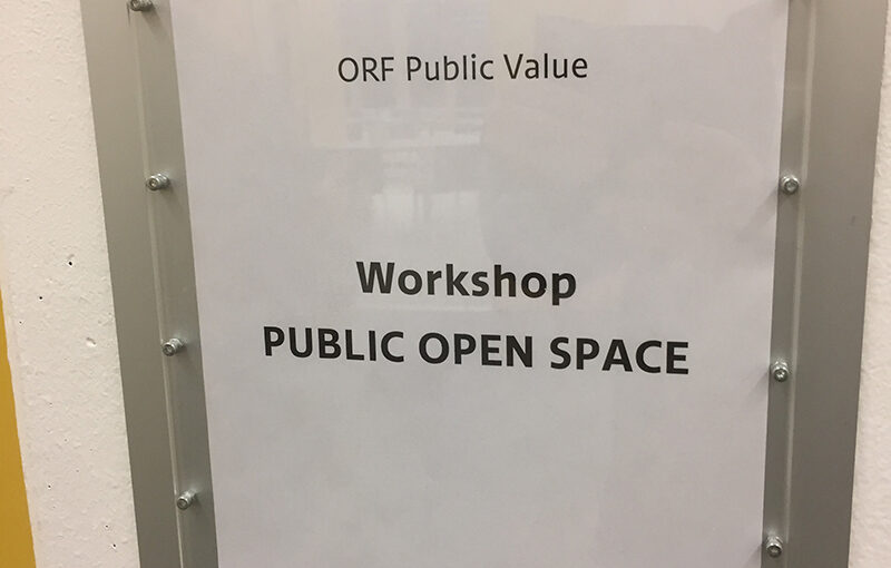POS workshop at ORF in Vienna