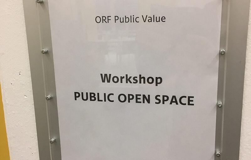 POS workshop at ORF in Vienna
